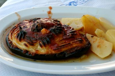 Greece Food Moussaka